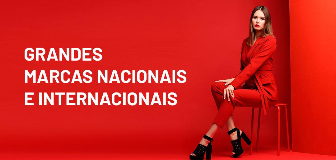 Grandes Marcas Nacionais e Internacionais